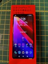 OnePlus 7T HD 1900 - 256GB - Frosted Silver (Unlocked) Smartphone (Dual SIM)