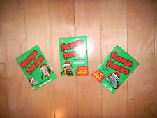 (3) 2010 Wacky Package Parodies Phase 1 Christmas Winter Sealed Unopened Packs