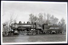*1940's Union Pacific Railroad Locomotive # 733 ~ Real Photo Pc Rppc