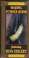 Making Powder Horns DVD/gun building/gun making