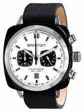Genuine Briston Mens Clubmaster Quartz Watch Womens Chronograph Military Sport