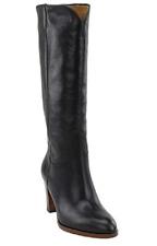 NIB Women's Frye Leather June Tall in Black 79906