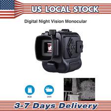 Mini 5X 8Gb Digital Monocular Infrared Ir Camera Night Vision Function Telescope