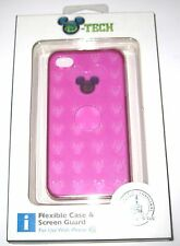 New Disney Parks Authentic DTech✿iPhone 4S Case Mickey Mouse Pink Flex $32.95