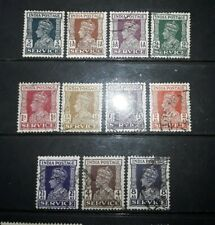 74 India  George Vl 1937 -42 official stamps