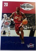 2004-05 Fleer Ultra Hoop Nation Lebron James #1HN, 2nd Year, Cleveland Cavaliers