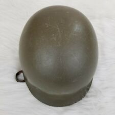 WW2 WWII Military Para Helmet Replica Reenactment Green Leather Liner & Strap T2
