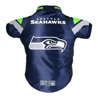 Seattle Seahawks NFL Little Earth Production Dog Pet Premium Jersey BIG DOG