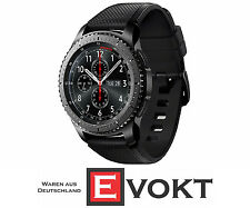 SAMSUNG Gear S3 Frontier Smart Watch Android Silicone 4GB Space Gray Genuine New