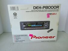 Pioner DEH-P8000R Car Receiver - Tested and Working - Remote Included