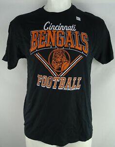 Cincinnati Bengals NFL Junk Food Men's Black Short Sleeve T-Shirt style V