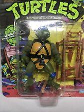 TMNT 1988 Playmates Leonardo Action Figure, Original Packaging