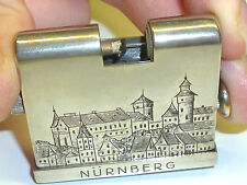 """KASCHIE """"K16"""" SQUEEZE LIGHTER WITH MOTIVE - QUETSCHZÜNDER -1931 -MADE IN GERMANY"""