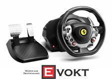 Thrustmaster TX F458 Steering Wheel & Pedals Game Controller Genuine New
