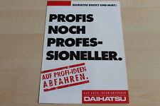 86769) Daihatsu Hijet + Rocky Prospekt 198?