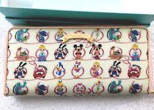 Disney Samantha Thavasa 30th Anniversary Tokyo Disneyland large Zippy Wallet