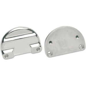 Drag Specialties Fender-To-Fork Adapters - Chrome | 1410-0021