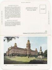 Parlement Provincial Parliament QUEBEC QC Canada 1930-50 Folkard Foldout PC 50