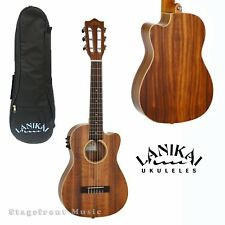 LANIKAI ACACIA SERIES GUITELELE 6 STRING ACOUSTIC/ELECTRIC UKULELE GUITAR *NEW*