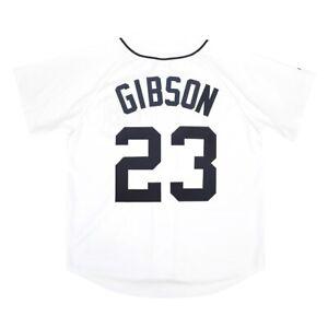 Kirk Gibson Majestic Detroit Tigers Home White Jersey Men's (M-2XL)
