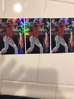 (3) Shohei Ohtani 2020 TOPPS RAINBOW FOIL OPENING DAY BLUE FOIL LOT ANGELS 🔥