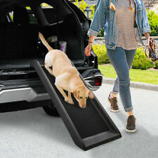 40' Po 00004000 rtable Dog Ramp For Large Pet Ladder Trunk Back Seat Step Car Suv Stairs