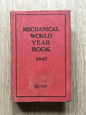 1942 MECHANICAL YEAR BOOK EMMOTT & CO LONDON ENGINEER MACHINISTS