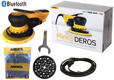 Mirka Deros 650CV 150 mm im Karton Exzenterschleifer Schleifmaschine Hub 5,0 mm