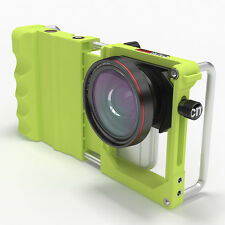 Pixeladdix Cinema Mount Stabilizer Holder for iPhone HTC smartphone phone green