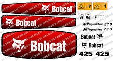 BOBCAT 425 Mini Escavatore Adesivo Decalcomania Set