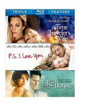 THE LAKE HOUSE /PS I LOVE YOU / TIME TRAVELLER  -  Blu Ray - Sealed Region free