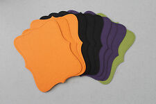Stampin' Up! Halloween Basic Black/Pumpkin/Apple/Blackberry Top Note Die Cuts 12