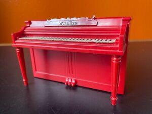 Vintage Wurlitzer Piano Piggy Coin Bank Bakelite Plastic Child Toy Fort Wayne IN