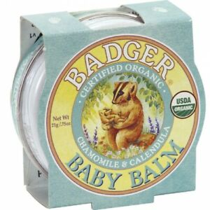 Badger Balm - Organic Soothing & Protection For Your Baby's Skin - 21g Tin