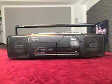 Sony CFD-64 CD Radio Cassette recorder Ghettoblaster