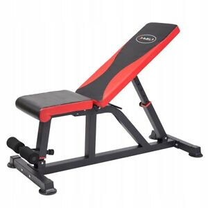 HMS L8015 Adjustable Foldable Incline Decline Weights Bench Press Home Gym