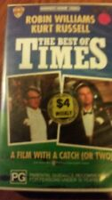 THE BEST OF TIMES - ROBIN WILLIAMS & KURT RUSSELL -  VHS VIDEO