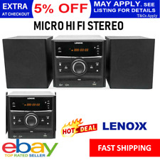 Home Stereo CD Player Micro HiFi System Bluetooth USB DVD Compact Audio Sound