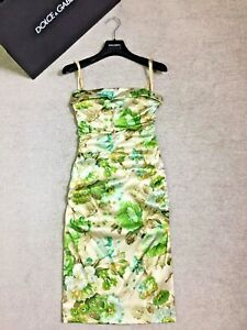 Stunning £1870 DOLCE & GABBANA dress IT size 42/Int M/UK 10/US 6 perfect cond