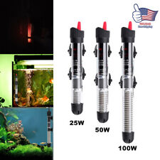 100W Aquarium Heater Submersible Freshwater Marine Fish Tank w/ Adjustable Knobs