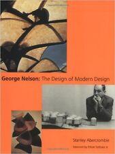 GEORGE NELSON The Design of Modern Design Mid Century Industrial Furniture Bk