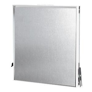 Fliesenrahmen Revisionstür Revisionsklappe Metall verzinkt zum Unterputz Einbau