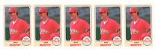 (5) 1993 Sports Cards #32 Dale Murphy Baseball Card Lot Philadelphia Phillies