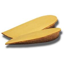 Talonnettes orthopediques grandissantes cuir liège 10mm.Taille 3 pointure 41/43