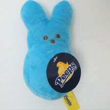 """Just Born Peeps Blue Easter Bunny Rabbit Stuffed Plush With Tag 5"""""""