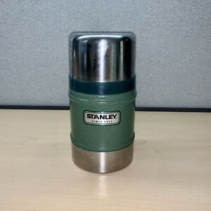 Stanley 7.25 inch  Vacuum Classic Insulated Thermos 17 Oz Green Stainless Steel