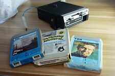 More details for hitachi cs-1400ic under dash 8-track car player in good condition /w 3 tapes