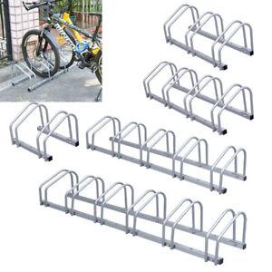 Fahrradständer Fahrradparker Fahrradhalter Fahrrad Garage diverse Modelle silber