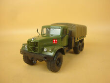1:43 RUSSIAN MAZ KRAZ MILITARY TRUCK MODEL (Mirrors need be installed by buyer)