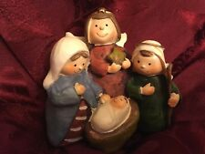NIB Miniature Nativity Figurine For Children